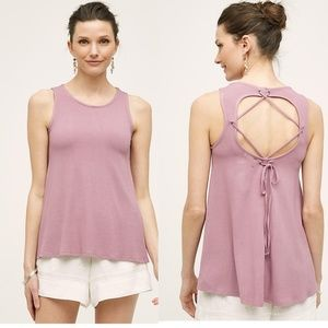 Anthropologie Crossed Paths Tank